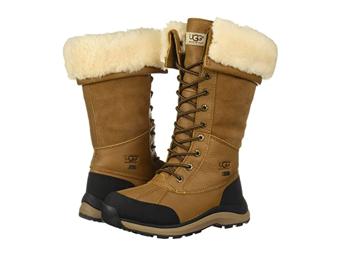 UGG  Adirondack Tall Boot III (Chestnut) Womens Lace-up Boots