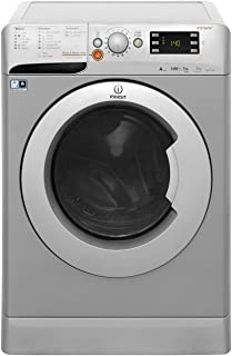 Indesit Freestanding Innex Washer & Dryer/ 7Kg Washing Capacity/ 5Kg Drying Capacity/ 1400 RPM/ Silver/ XWDE-751480XSUK