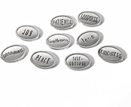 product image for Crosby & Taylor Fruits of The Spirit American Lead-Free Pewter Tokens, Set of 9