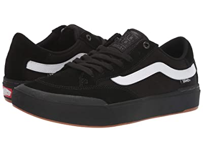 Vans Berle Pro (Black/Black/White) Skate Shoes