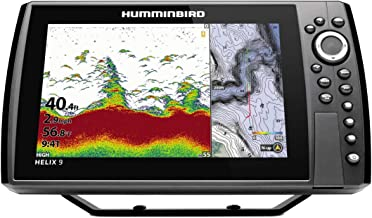 Humminbird Helix 9 G3N Fish Finder with Chirp, MEGA SI+, GPS, and 9-Inch-Display