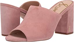 Cameo Pink Kid Suede Leather