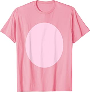 pig costume shirt Pig Belly Pink Fur Barnyard Animal T-Shirt
