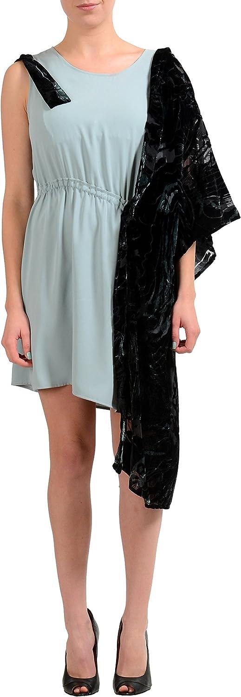 Maison Margiela MM6 Multicolor Sleeveless Women's Sheath Dress US M IT 42