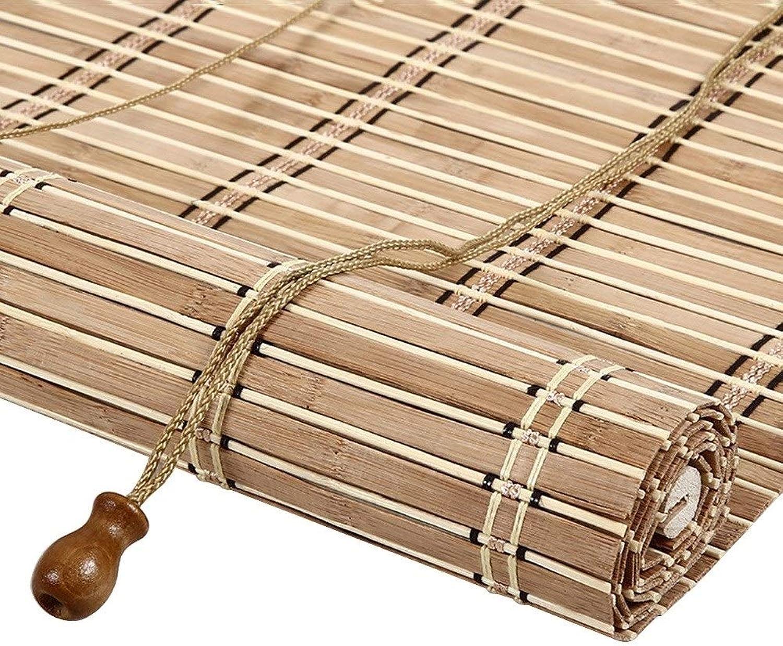 marcas de moda Persiana de bambú Cortina Exterior Exterior Exterior del Rodillo, Persianas Enrollables con 65% De Projoección UV, Decoración De Muebles para Interiores, Exteriores Y Naturales, 85cm   105cm   125cm   145cm De Ancho  promociones de descuento