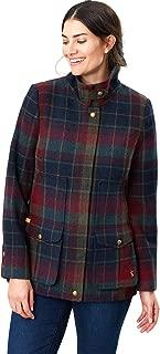 Joules Fieldcoat Womens Tweed Jackets UK 14 Reg Red