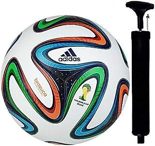 SMT Brazuca PVC Football, Size 5, (Multicolour)