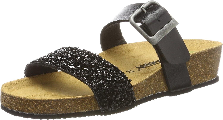 Dr Brinkmann kvinnor -Pantolette -Pantolette -Pantolette svart 70190 -1, Gr. 42  bästa mode