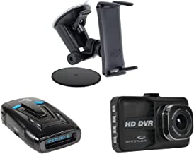 Whistler KITWHI14VR93M61 CR93 Laser Radar Detector (D14VR 1080p/720p HD Dash Cam and Arkon's Slim-Grip Ultra Robust Base M...