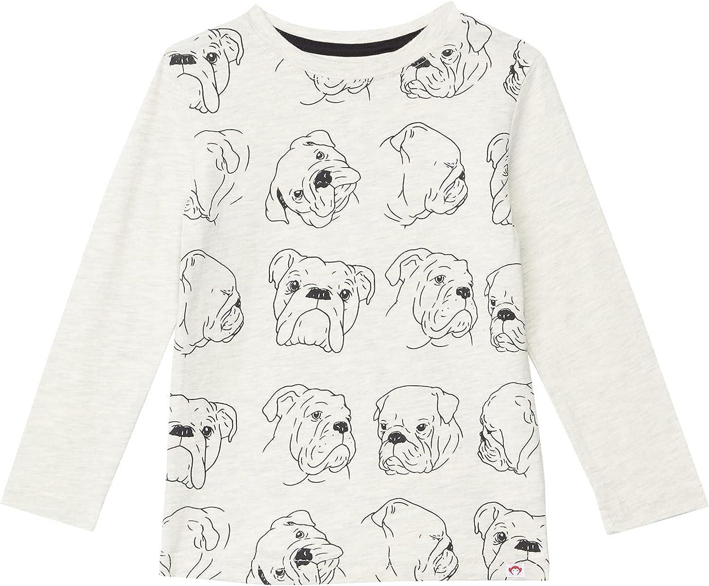 Appaman Kids Boy's Bulldog Graphic Long Sleeve T-Shirt (Toddler/Little Kids/Big Kids)