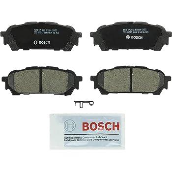 Bosch BC1004 QuietCast Premium Ceramic Disc Brake Pad Set For Saab: 2005-2006 9-2X; Subaru: 2004-2008 Forester, 2003-2007 Impreza; Rear