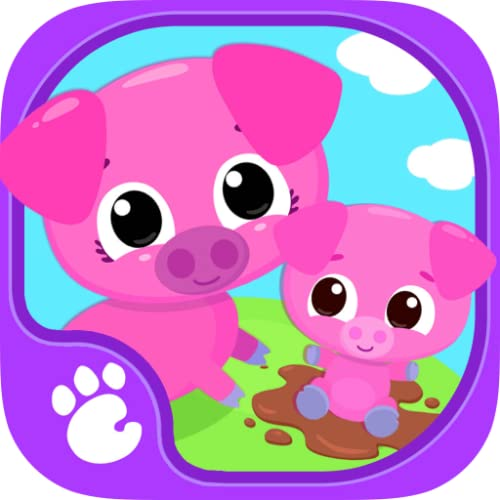 Cute & Tiny Farm Animals - Baby Pet Village