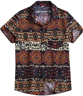 SHIRT UOMO a Maniche Corte TShirt Scritta Girocollo Manica Corta Shirt Taglie Forti 3xl-12xl