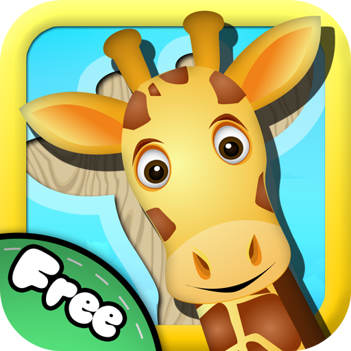 Kostenloses Tierpuzzle – Drag & Drop Puzzles für Kleinkinder
