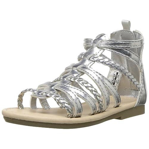 0cd756a9b5a Carter s Kids Smile Girl s Gladiator Sandal