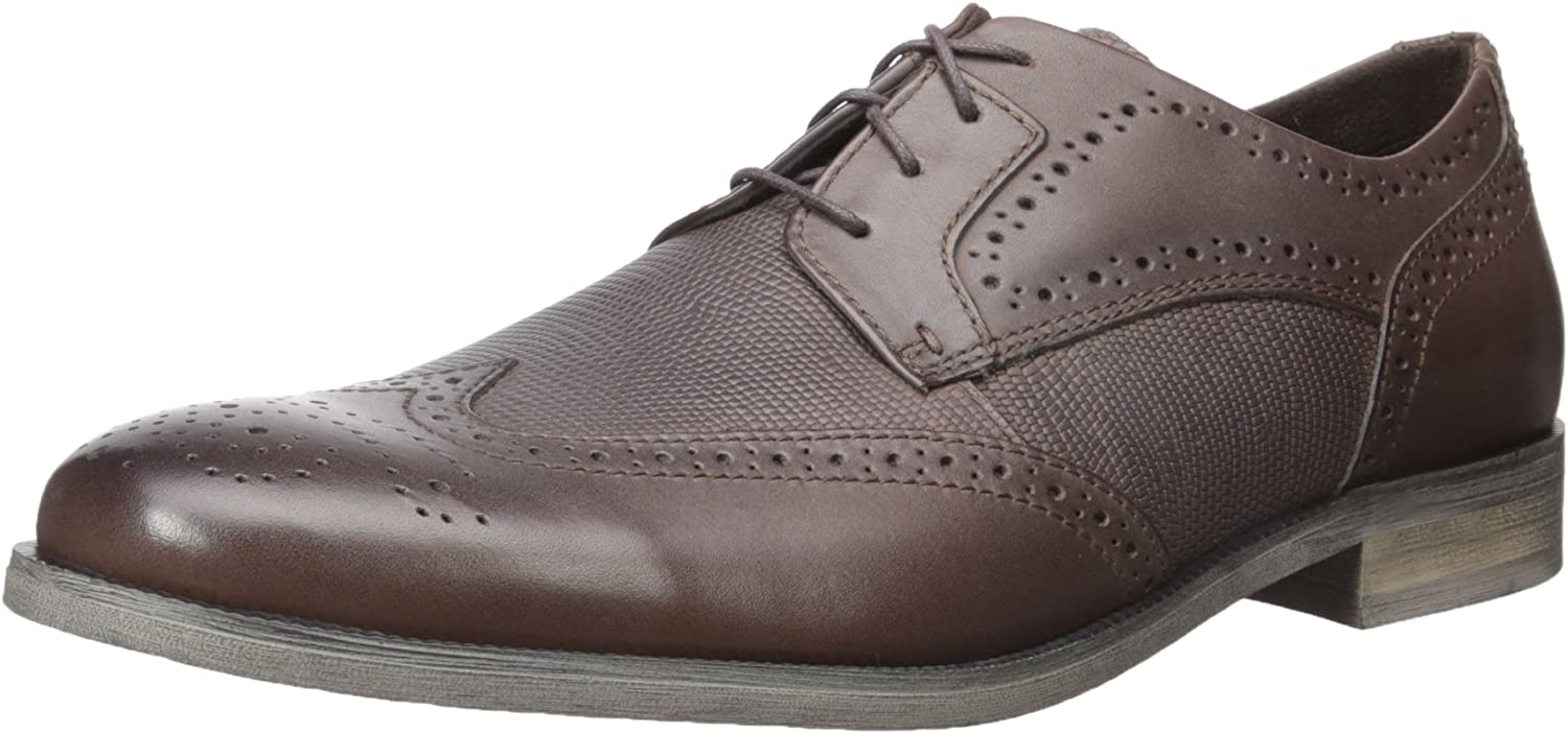 STACY ADAMS Men's Bastian Wingtip Oxford, braun, 10.5 M US