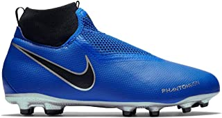 Official Nike Phantom Vision Academy DF Firm Ground Football Boots Juniors Soccer Cleats