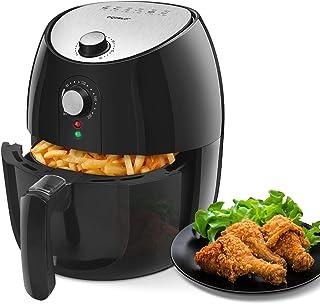 Aigostar Hayden Pro - Friteuse électrique sans huile, friteuse à air chaude, 1500 W, format familial 4,2 L, panier de frit...