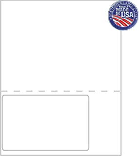 """Mailing Labels FC-0017 – Integrated Label Sheets – 1 up Labels 6""""x4"""" Full Perforated Sheet - can be Used as Personalized L..."""