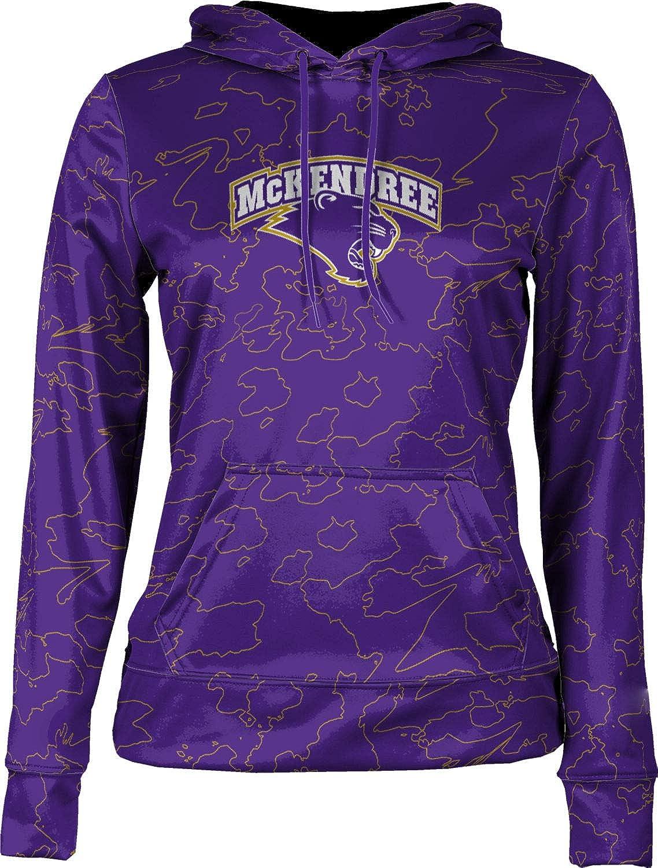 ProSphere McKendree University Girls' Pullover Hoodie, School Spirit Sweatshirt (Topography)
