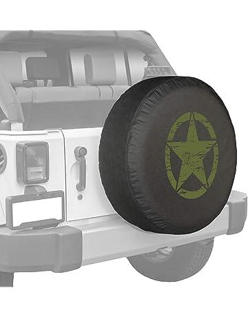 Beth-D Copri Pneumatico di Scorta Impermeabile Originale Lupo Adatto per Accessori per Rimorchio da Viaggio per Camion SUV 14-17inch