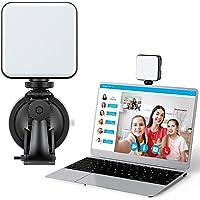 Adjustable Webcam Video Conference Lighting Kit + Pipishell Webcam Stand