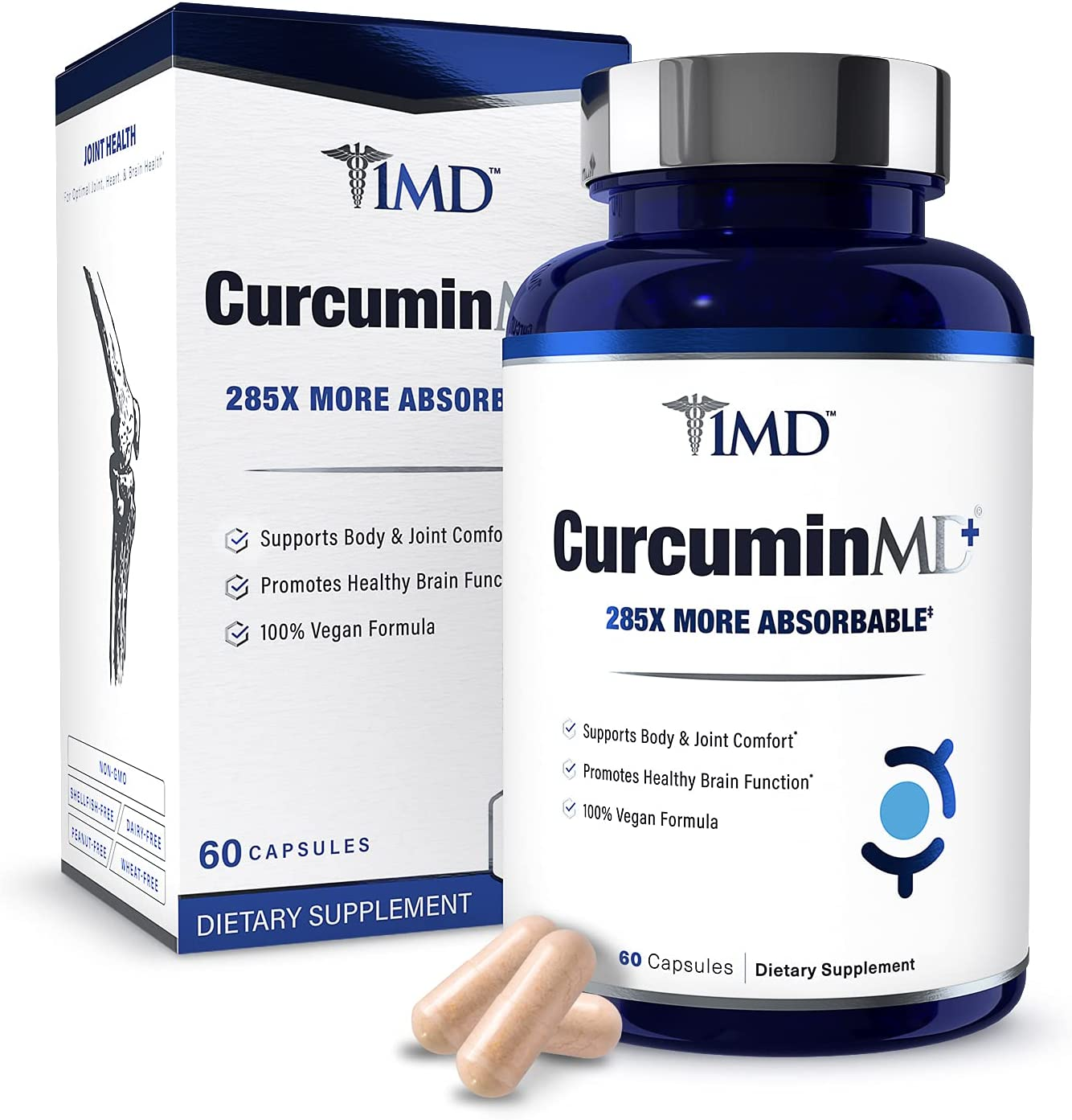 1MD CurcuminMD Plus - Turmeric Curcumin Serrata with Boswellia 70% OFF Outlet Manufacturer direct delivery