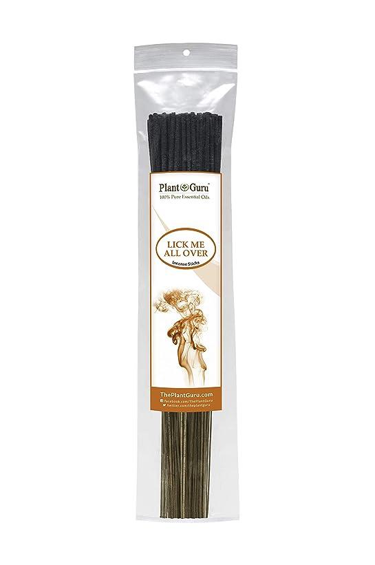 クレーン洗う煙Lick Me All OverエキゾチックIncense Sticks、185グラムで各バンドル85?to 100スティック、プレミアム品質Smooth Clean Burn、各スティックは10.5インチ長Burn時間は45?60分各スティック。