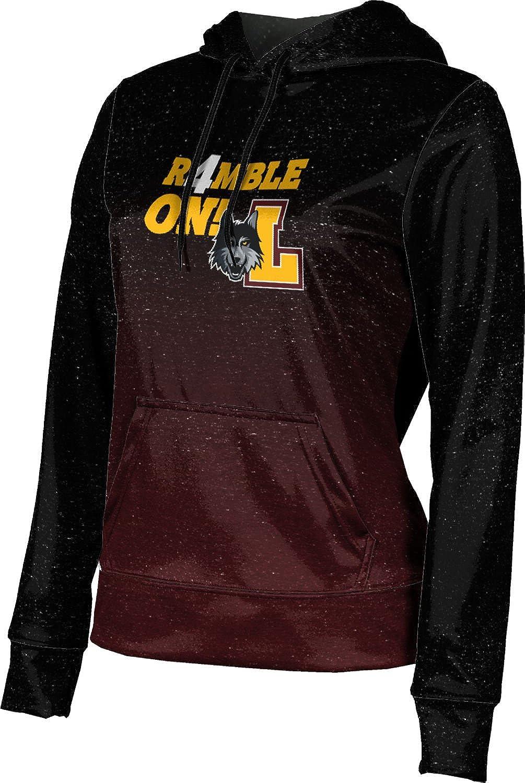 Loyola Chicago March Basketball March Basketball Final Girls' Pullover Hoodie, School Spirit Sweatshirt (Ombre)