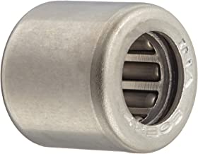 INA SCE47 Needle Roller Bearing, Steel Cage, Open End, Inch, 1/4