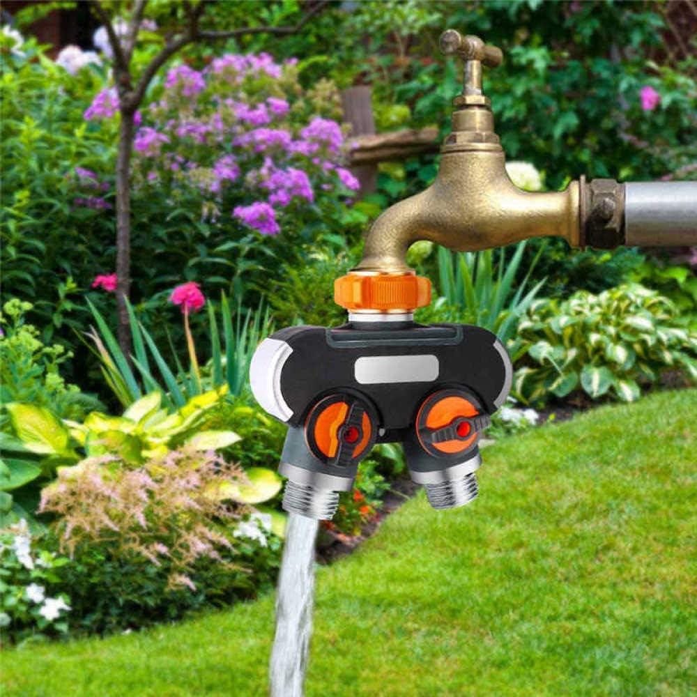 BBWY NEW Double-Pass Faucet Ranking TOP18 Splitter Garden 2 Hose Way Rubb
