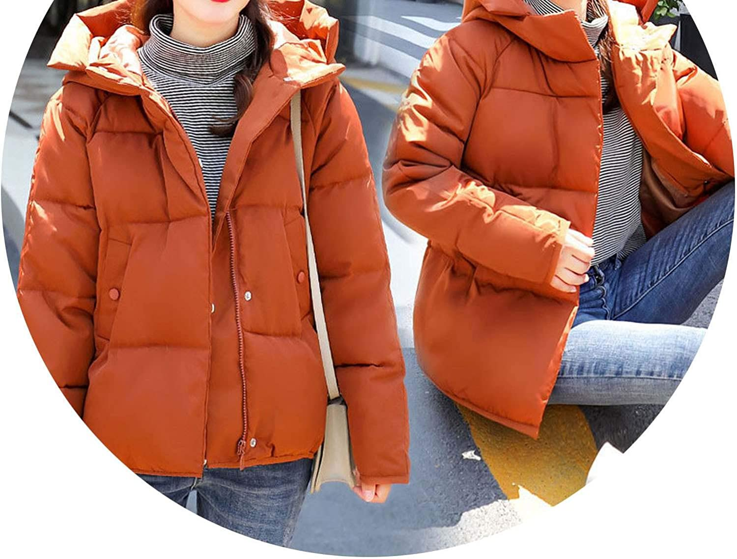Don't mention the past 2018 Short Winter Down Coat Jacket Student Thick Warm Slim Feminino Wadded Parkas