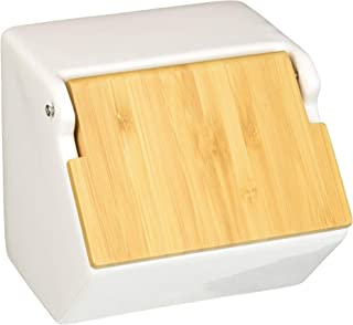 Now Designs Takenoko Salt Box, White