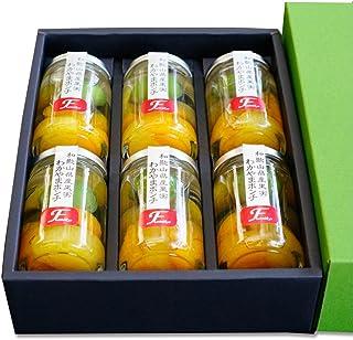 わかやまポンチ6個入 和歌山県産梅の甘露煮、温州みかん、はっさくと国産の白桃をジュレに閉じ込めた県協力商品ギフト