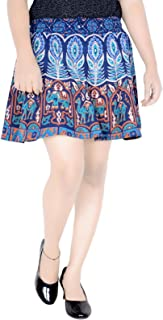 Sttoffa Magic Skirt 15 Inch Length Elastic Band Rajasthani Skirt D5