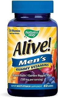 Alive Nature's Way Men's Gummy Vitamins 60's