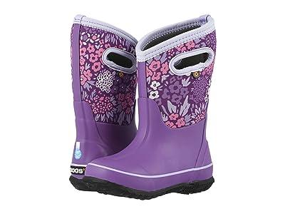 Bogs Kids Classic Big NW Garden (Toddler/Little Kid/Big Kid) (Violet Multi) Girls Shoes