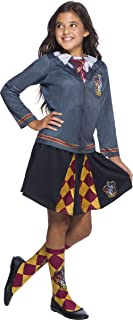 Harry Potter Costume Top, Gryffindor, Small