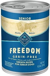 Blue Freedom Natural Grain Free Wet Dog Food Senior Chicken Recipe