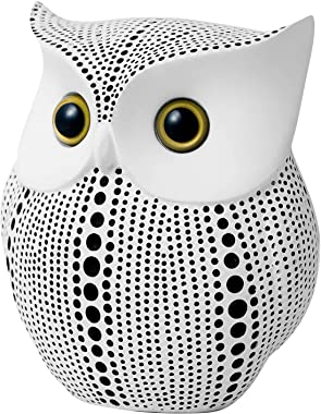 Owl Statue for Home Decor Accents Living Room Office Bedroom Kitchen Laundry House Apartment Dorm Bar, APPS2Car Little Crafte