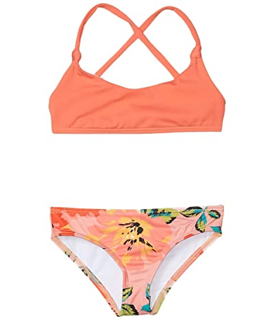 Billabong Kids Beach Bliss Knit Tali Set (Little Kids/Big Kids) (Multi) Girl
