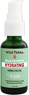 Wild Thera Deep Hydration & Moisturizing Face Oil for Mature Skin. Antioxidant anti-wrinkle treatment to soften old, tried, dry, mature, saggy and cracked skin. Reduce inflammation and calm skin.