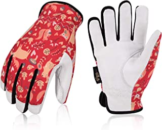 Vgo Age 3-4 Kids 32 ℉ or above 3M Thinsulate C40 Lined Winter Warm Working Gloves,Anti-Abrasion, High Dexterity Kid Glove(1Pair,Size XS,Red,GA9636FW-KID)