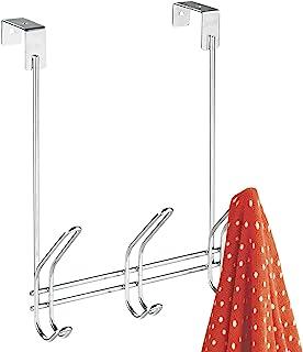 InterDesign Classico patère pour porte avec 3 crochets, porte manteau de porte pour vestes, chapeaux, écharpes ou serviett...