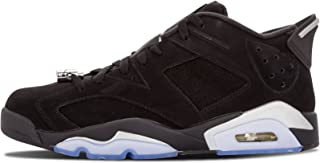 Jordan Air 6 Retro Low (Black/Metallic Silver-White 17)