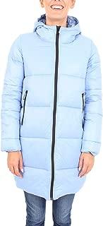 SUNSTRIPES Luxury Fashion Womens MEGANAVIO Light Blue Down Jacket   Fall Winter 19