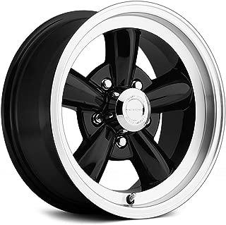 Vision 141 Legend 5 Gloss Black Machined Lip Wheel with Machined Finish (15x7