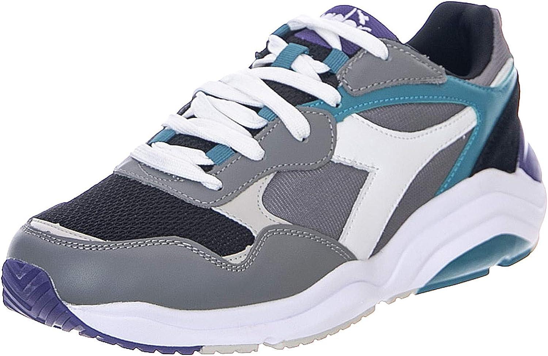 Diadora - Sneakers - Whizz Run - Charcoal White bluee