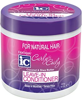 Fantasia Curly & Coily Leave-in Conditioner, 16 Ounce
