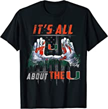 Miami Hurricanes It'S All About The U T-Shirt - Apparel